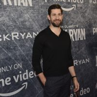 """John Krasinski, star of """"Tom Clancy's Jack Ryan,"""" poses at the premiere of the Amazon Prime Video television series at the Port of Los Angeles, Friday, Aug. 31, 2018, in Los Angeles. (Photo by Chris Pizzello/Invision/AP)"""